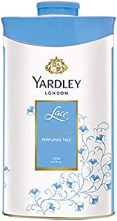 Yardley London Lace Talcum Powder, 250 g