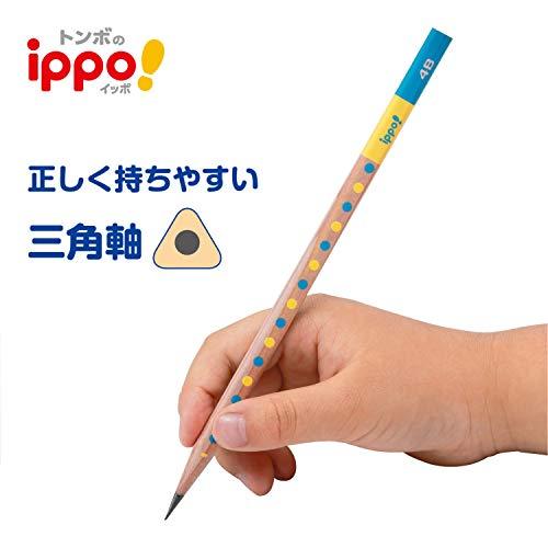 トンボ鉛筆鉛筆しっかりもてるかきかた三角軸1ダースKB-EG02-2B