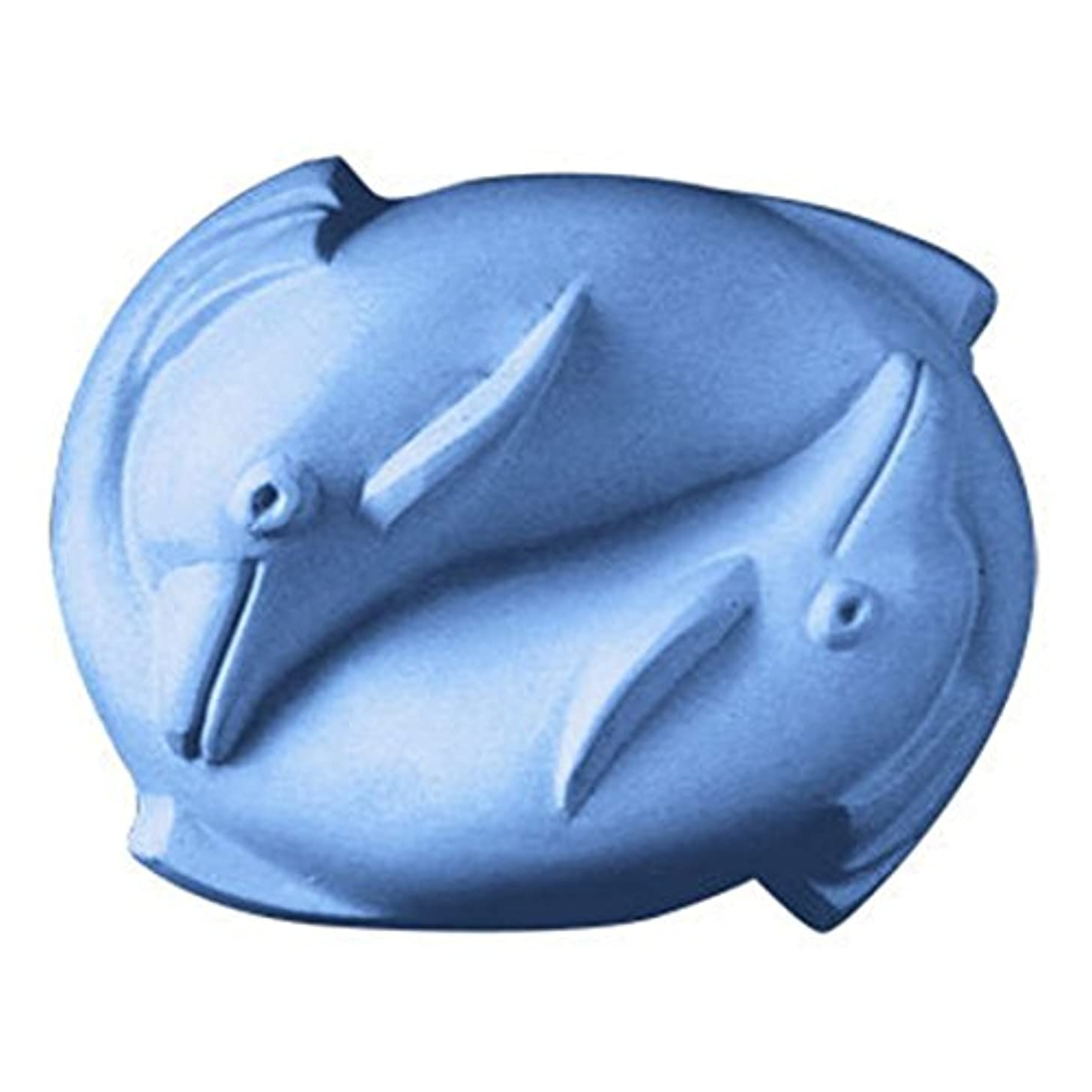 Dolphins Soap Mold (MW 38) -  Milky Way. Melt & Pour, Cold Process w/ Exclusive Copyrighted Full Color Cybrtrayd Soap Molding Instructions in a Sealed Poly Bag