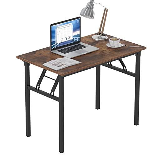 Need Mesa Plegable 100x60cm Mesa de Ordenador Escritorio de Oficina Mesa de Estudio Puesto de Trabajo Mesas AC5FB-100
