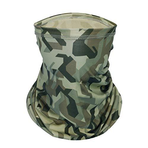 Lomelomme Herren und Damen Halstuch Bandana Kopftuch Sommer Dünn Chiffon Tuch Multifunktionstuch Schlauchtuch UV-Schutz, Staubschutz