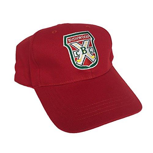 MyPartyShirt Bushwood Country Club Caddyshack Red Baseball Cap