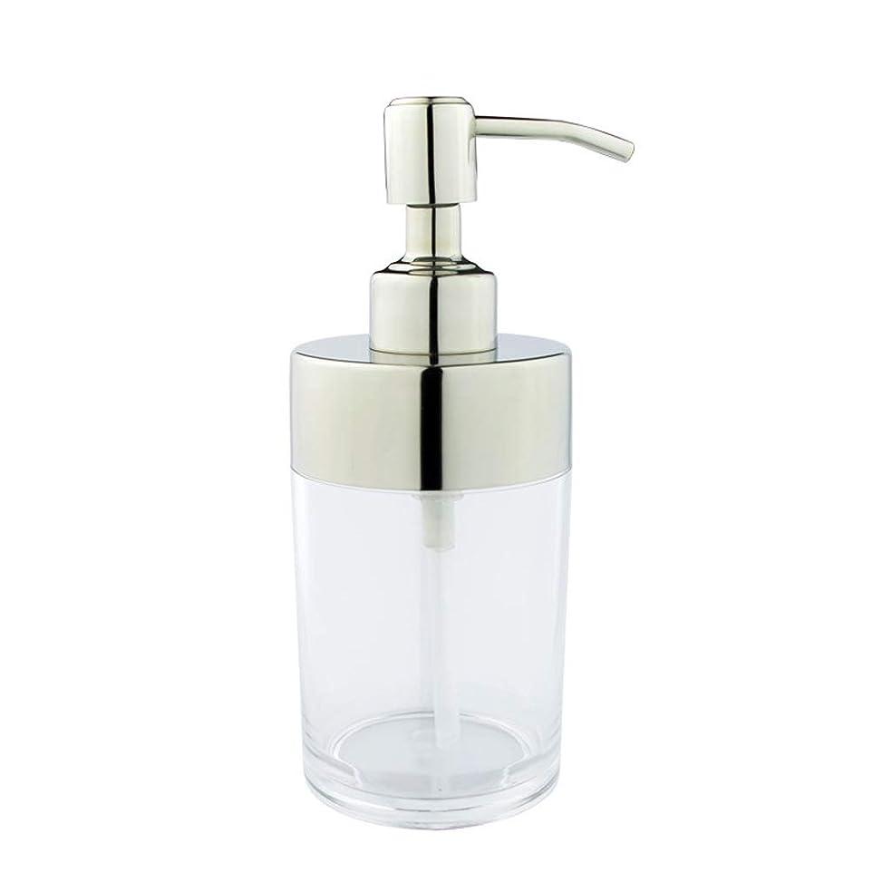 帰る航空便やる石鹸ローションディスペンサー、浴室のカウンタートップのための手の消毒剤ボトル