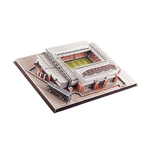 Rompecabezas 3D Kit de modelo de bricolaje de estadio de fútbol Camp Nou, Puzzle de estadio Kit de modelo de estadio, Modelo de estadio de fútbol Campo de fútbol
