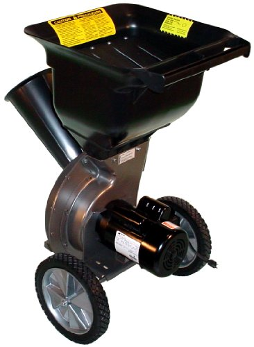 Patriot CSV-2515 1.5 hp Electric Wood Chipper Leaf Shredder