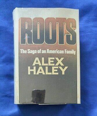 Roots by Alex Haley Vintage 1976 HCDJ BCE