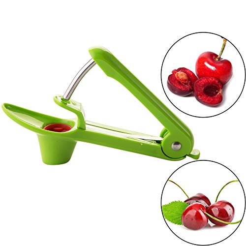 Cherry Pitter–SameTech Cherry Pitter Remover Stoner Tool with Food-Grade Silicone Cup,...