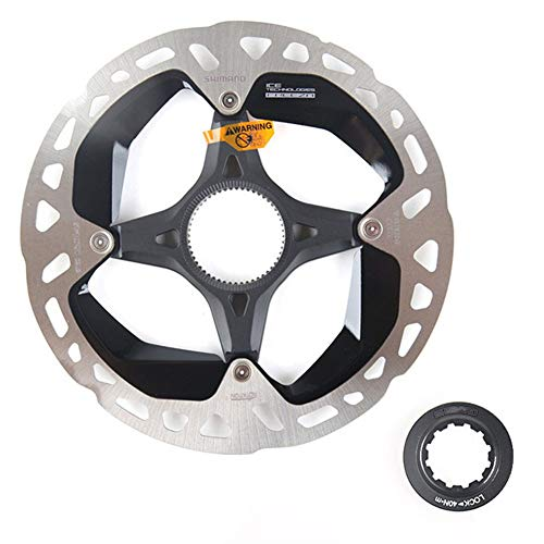 TSAUTOP New 140mm 160mm 180mm ICE-Technologies Freeza Center Lock Disc Brake Rotor for M8100 M9100 Brake XTR RT MT900 (Color : 160mm 1pcs)