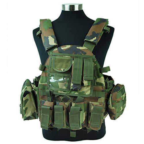 LY-01 Chaleco táctico Militar Chaleco táctico, Guardia de Seguridad Chaleco de Entrenamiento...