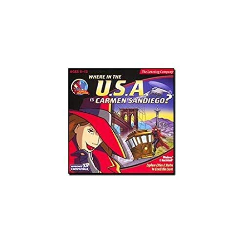 Where in the USA is Carmen Sandiego? (輸入版)