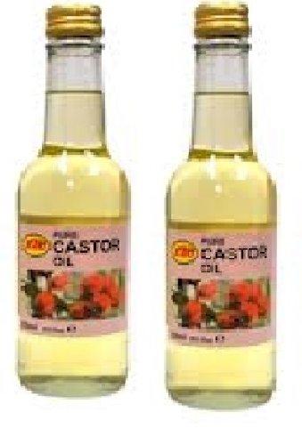 KTC - Huile de ricin - lot de 2 bouteilles de 250 ml