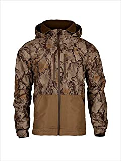 Natural Gear Cut Down Waterfowl Jacket, Camo Hunting Coat for Women and Men with Fleece Lining, 100% Dri Stalk Material