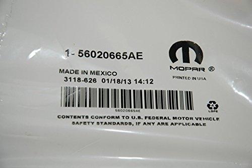 Mopar 56020665AE Battery Cable Negative