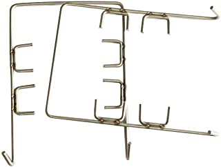 Hongso Fire Grate Hangers Replacement for Charbroil & Chargriller Charcoal Grills Ash/Drip Pan, Set of 2, 2230-03-003 (FGH001)
