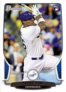 2013 Bowman Draft Baseball #1 Yasiel Puig Rookie Card