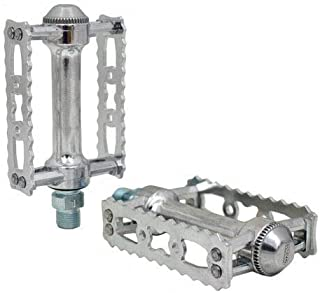 MKS Sylvan Touring Classic Pedals for Road/Touring 9/16 inch, Silver, MKS1838