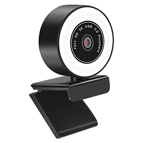 OUJIN Cámara web para computadora con micrófono, 1080P HD Streaming Webcam Plug and Play, cámara web para Youtube