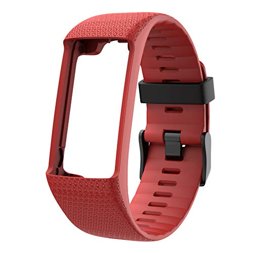 RYRA Silicone Replacement Watch Strap Compatible for Polar A360 A370 GPS, Quick Release Soft Rubber Replacement Watch Bands for Men and Women