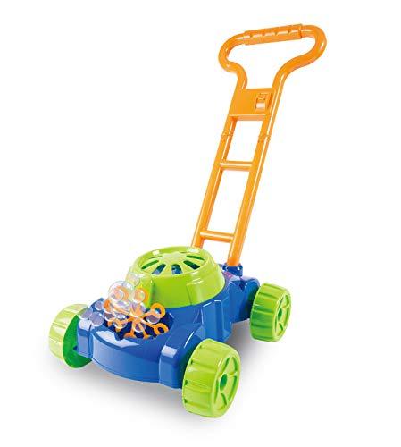Xtrem Toys 00270 Bubble Spaß Seifenblasen - Rasenmäher, 50 x 27 x 50 cm groß, inklusive 118 ml Seifenblasenflüssigkeit, batteriebetrieben, toller Outdoorspaß für Kinder ab 6 Jahren