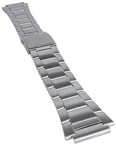 Casio Uhrenarmband Edelstahl Band Silberfarben für AE-1000 AQW-100 AQW-101 SGW-300 SGW-400 10485930
