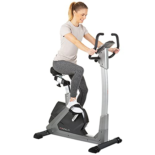 HAMMER Finnlo Varon Stressless, benutzerfreundliches Fitnesstraining, tiefer Einstieg, einfachste Computer-Steuerung, 25-400 Watt, 15 Programme, 150 kg Gewichtsbelastung, 112 x 55 x 130 cm