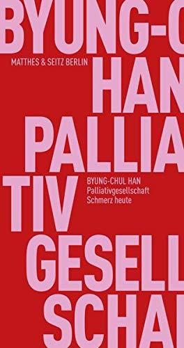Palliativgesellschaft: Schmerz heute (Fröhliche Wissenschaft)