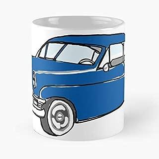 Vintage Auto Ford - Best Gift Ceramic Coffee Mugs 11 Oz