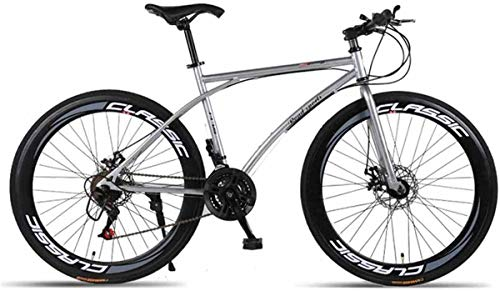 Road Bike Bicycles Men Adult 21-Speed Double Disc Brake Lightweight High Carbon Steel Frame Racing Bikes