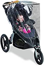 Graco Jogging Stroller Weather Shield, Baby Rain Cover, Universal Size to fit Most Jogging Strollers, Waterproof, Windproo...