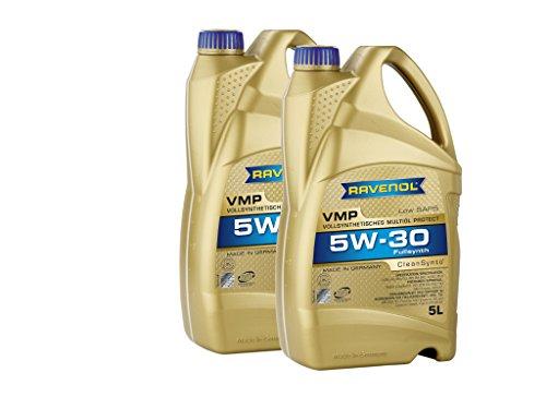10 (2 x 5) litros de aceite de motor Ravenol VMP SAE 5W-30 totalmente sintético, fabricado en Alemania