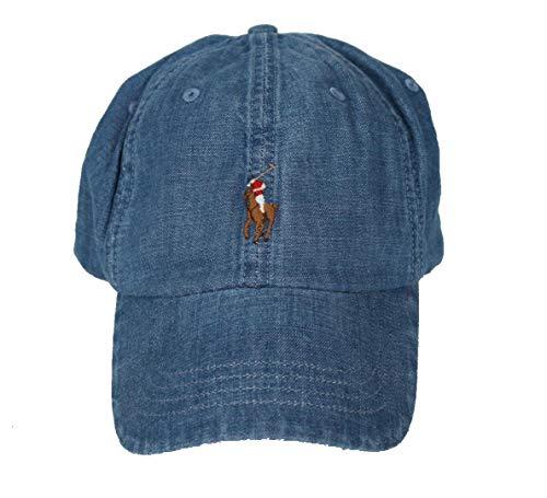 Ralph Lauren - Gorra de béisbol para hombre, diseño vaquero con jinete multicolor