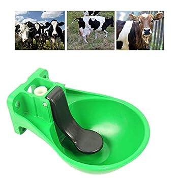 Lucky Farm Animaux De Compagnie Abreuvoir à Eau Automatique Bol d'eau De Cheval De Bétail, Abreuvoir Suspendu Extérieur en Plastique pour Chien Chat Porc Moutons à Boire
