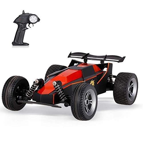 ZCYXQR Coche de Control Remoto para niños Off Road, 2.4Ghz Coche de Control Remoto Impermeable Radio Drift 1/24 2WD Escalada de Alta Velocidad Eléctrico Off-R