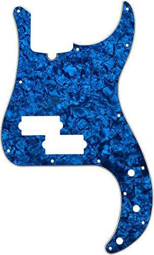 Fender© P-Bass© Pickguard, blue moto 4ply