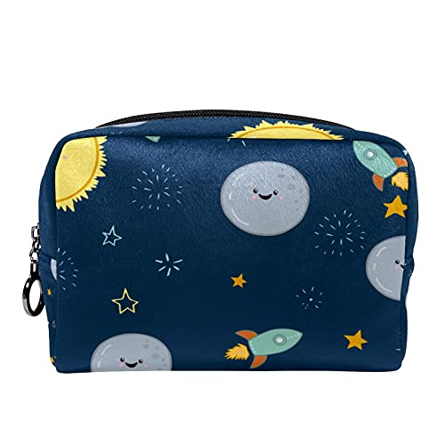 Galaxy Starry Sky - Bolsa de cosméticos para mujeres y niñas