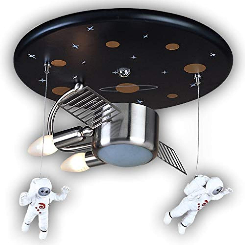 Deckenleuchte Astronaut Spaceman Kunststoff Metall Moderne Hngelampe Kinder Lampe Kreatives Design Leuchte Pendelleuchte Innendecke Dekorative Mdchen Jungen Kindergarten Schlafzimmer Lampe & Oslas
