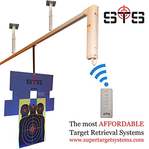 Amazing Deal Target Retrieval System, Complete DIY, for Shooting Ranges, Indoor or Outdoor (70)