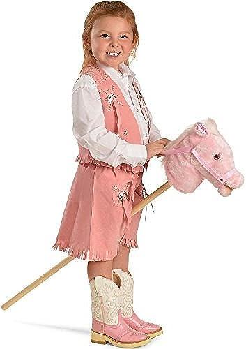 M & F Western Girls' Talking Stick Pony Rosa One Größe by Other