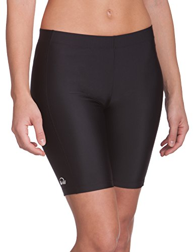 IQ-Company Damen Bikinihosen UV Kleidung 300 Shorts, schwarz, S (38)