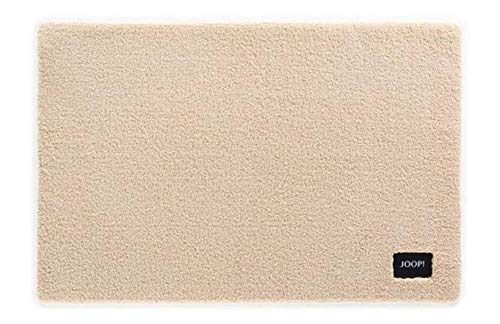Joop! Basic Badteppich 60x90 cm Farbe Sand 100% Polyamid Florhöhe 20 mm Form eckig...