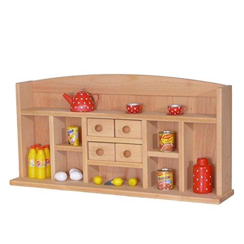 Kinder-Kaufmannsladen 1030G - Holz - Kaufladen für Tisch oder Spielständer