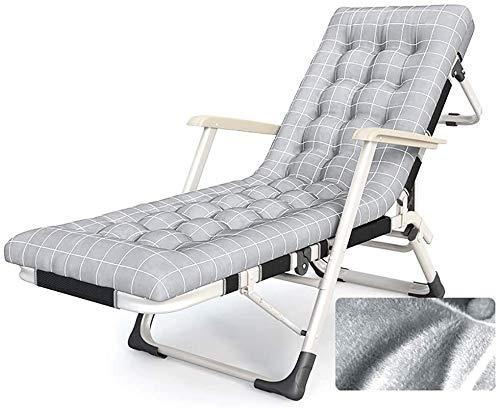 L Plegable reclinable de Gravedad Cero, Tumbona al Aire Libre, for la terraza de la Piscina Prado Playa, Ajustable en 5 Posiciones de Respaldo y piernas 3, tamaño: Red Transpirable, Nombre del Color: