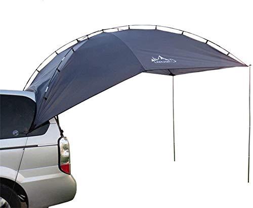 1yess 3-4 Personne Portable Pliable Sun Elter Tente remorque, Tear Anti-UV étanche Résistance résistant à l'usure, for la Navigation Camping Car Voyage Sporting 8bayfa