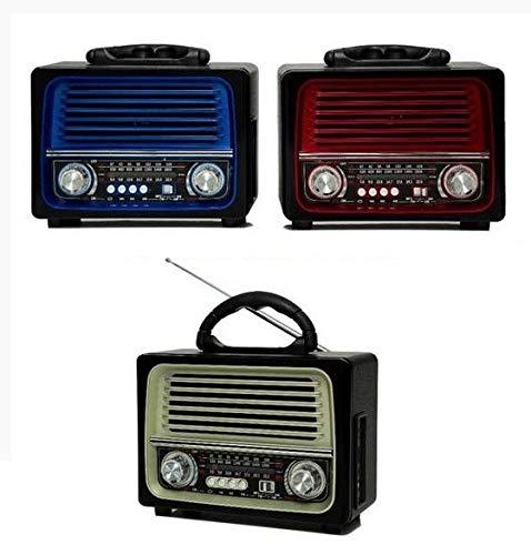 Radio Retro Lelong Le-642 Bluetooth Am Fm Usb Sd Aux Bivolt