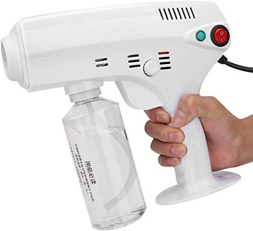Alittle Portable Micro Mist Spray Gun, Nano Hair Steam Gun, Facial Spray Water-Moisturizing Treatment Hair Care Machine
