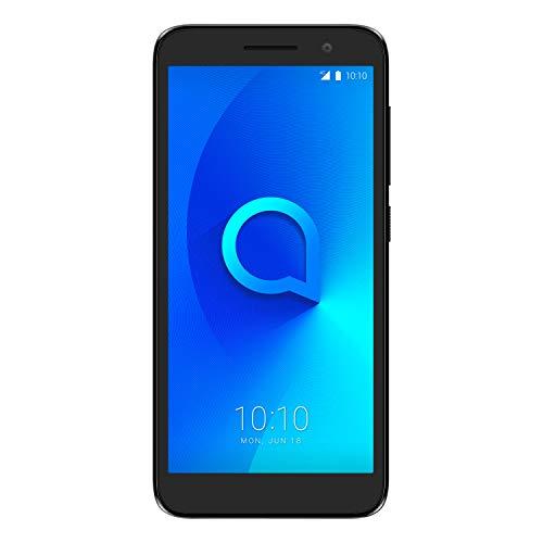 """Alcatel 5033D 1 2019, Smartphone - Pantalla 5"""" - Cámara trasera 5MP y frontal (selfie) 2MP - Memoria 8GB ROM + 1 RAM - Negro [Versión ES/PT]"""