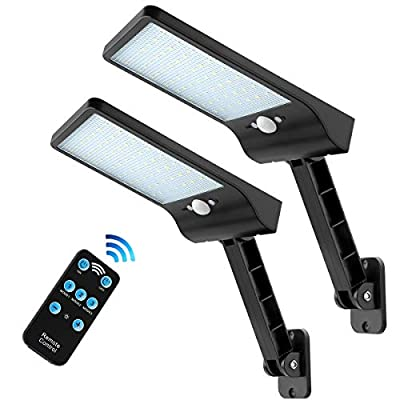LED Remote Solar Light Outdoor