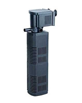 SuperAqua Aquarium Internal Biological Filter - 3-in-1 Filtration System; Filtration, Oxygenation & Pumping (1200L/H)