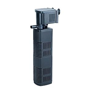 SuperAqua Aquarium Internal Biological Filter – 3-in-1 Filtration System; Filtration, Oxygenation &amp...
