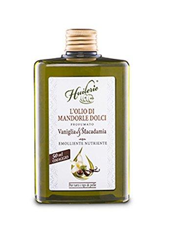 Cabassi & Giuriati Huilerie Olio di Mandorle Dolci Vaniglia & Macadamia - 320 g